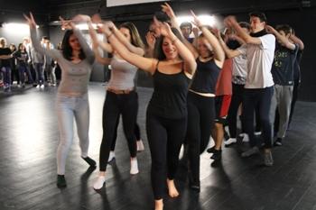 Els alumnes participants al Tots Dansen han estat treballant tot un trimestre