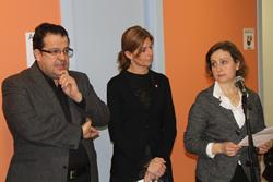 Joan Ignasi Elena, Carmela Fortuny i Aurora Baena