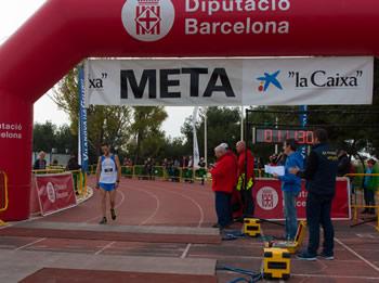 Dani Serra, guanyador de la Mitja Marató 2014 Foto: Dani Llaó