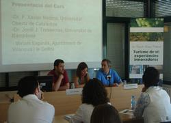 La regidora d'Educació i Treball, Míriam Espinàs, ha inaugurat el curs