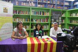 D'esquerre a dreta: Susanna Igual, Ariadna Llorens i Llorenç Guari