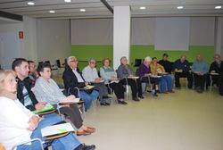 El taller sobre l'ordenança de convivència es va fer dilluns, 12 de novembre, al Centre Cívic la Geltrú