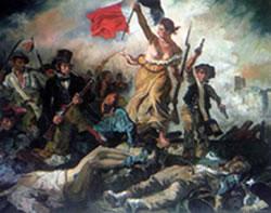 Miniatura de 'La llibertat guiant el poble'