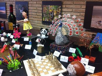 Mostra d'art d'objectes reciclats