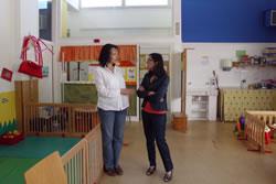 La Baldufa ofereix serveis per als infants de 0 a 3 anys i les seves famílies