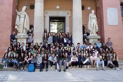 L'acte de benvinguda es va fer al Museu Balaguer. Foto: Nono