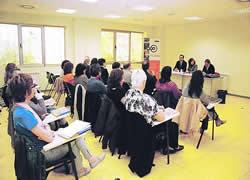 La delegació catalana estava formada per representants de 13 municipis