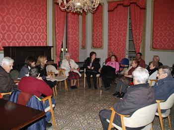 La trobada del Centre Vila es va fer a la Casa Olivella