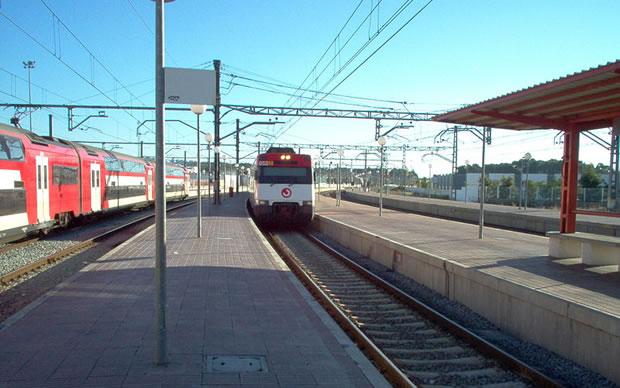 Estació de tren Vilanova i la Geltrú
