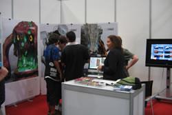 L'escola municipal ha participat enguany per primer cop al Gamelab, la fira mundial de videojocs