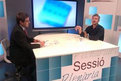 El programa d'actualitat política municipal de Canal Blau TV s'emet avui a les 19 h i a les 21 h