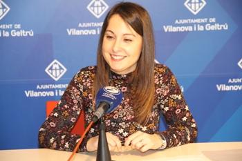 Gisela Vargas, regidora de Serveis Socials i Salut