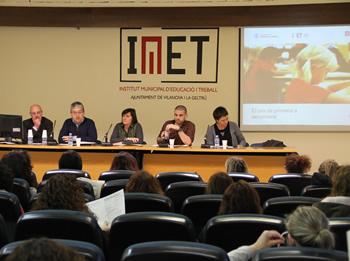 Albet, Martorell, Soms, Martín i Igual van explicar el pas de la primària a la secundària