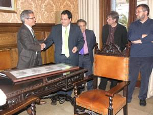 Visita del conseller Joan Saura a VNG