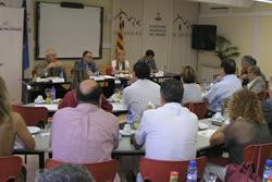 L'acte de Pro Penedès ha reunit representants polítics i empresarials