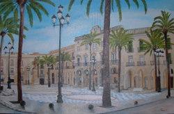 Aquesta és una de les pintures que es pot trobar al mercat de pintors aficionats