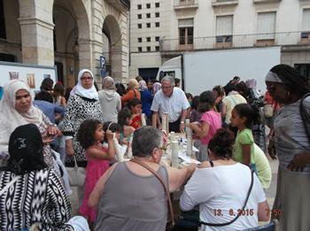 La plaça de la Vila va acollir la II Festa de la Diversitat