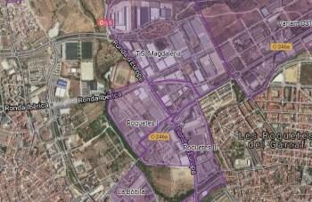 Polígons zona industrial sud de VNG