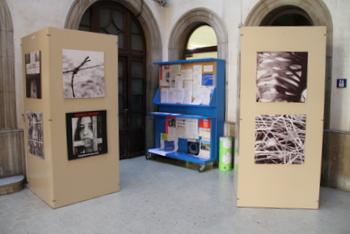 El vestíbul de l'Ajuntament acull aquests dies una mostra de fotografies