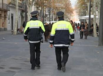 Agents de la Policia Local de Vilanova i la Geltrú