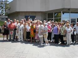 El grup abans d'entrar a TV3