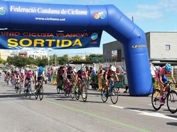 El circuit de la cursa estava ubicat al carrer del Bages
