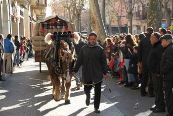 El dia de Sant Antoni, malgrat el fred, el temps va aguantar