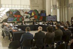 La signatura es va fer en un acte al MNAC