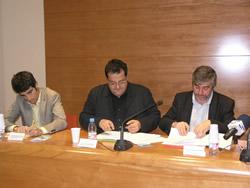 signatura del conveni entre l'Ajuntament de VNG i el Consell Comarcal del Garraf