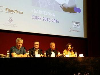 La presentació del Re@cciona a Barcelona, a la Filmoteca