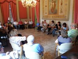 La trobada es va fer a la Casa Olivella