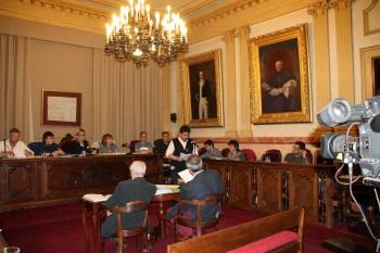 Intervenció del públic en el Ple municipal