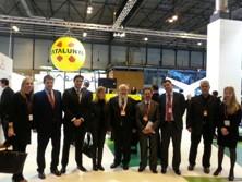 Delegació vilanovina a FITUR amb representants de la Diputació de Barcelona