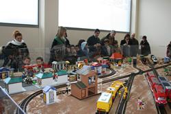 L'exposició va aconseguir reunir visitants de totes les edats